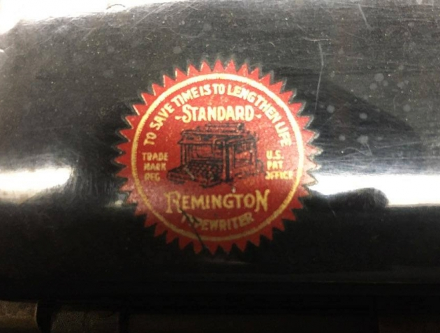"""Remington """"10"""" from the logo on the top ..."""