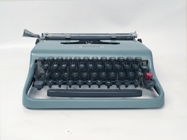 """Underwood-Olivetti """"Lettera 22""""  from the front..."""