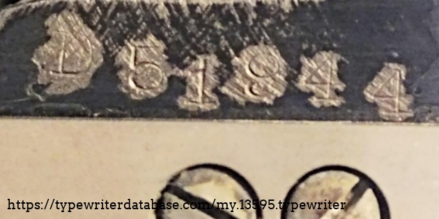 Serial number D51944