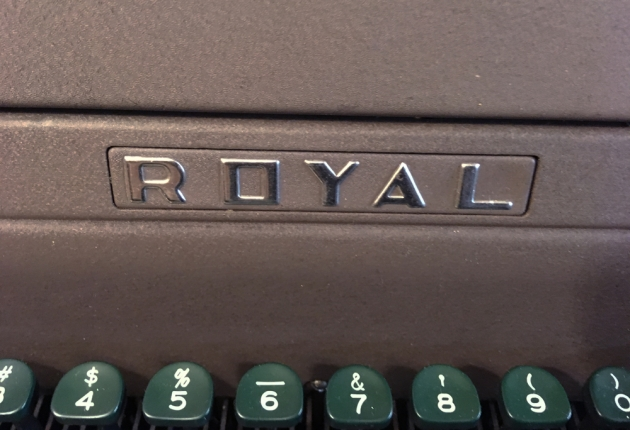 "Royal ""HH"" logo on the front..."
