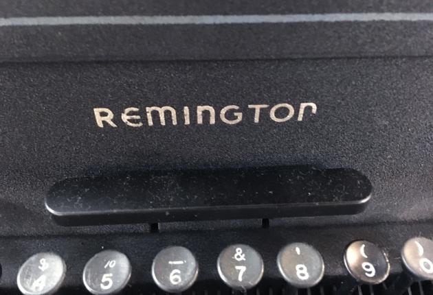 """Remington """"KMC"""" logo on the front..."""