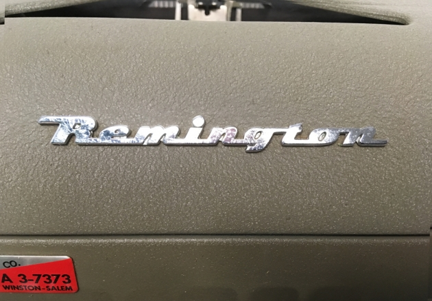 """Remington """"All-New"""" from the logo onn the front..."""