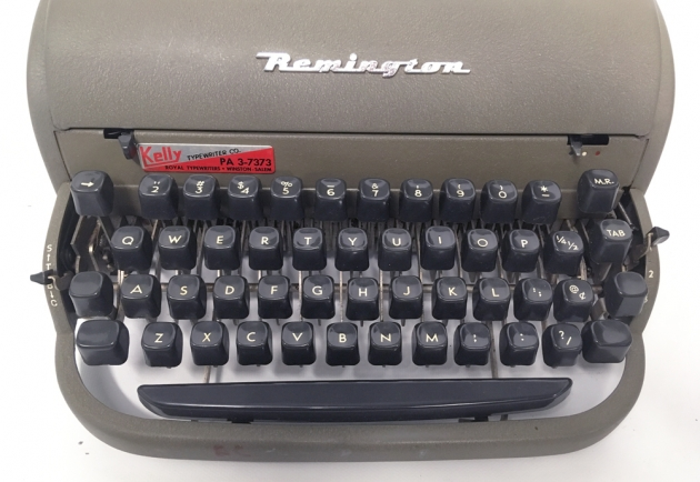 """Remington """"All-New"""" from the keyboard..."""