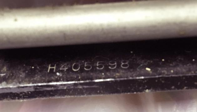 "Corona ""4"" serial number location..."