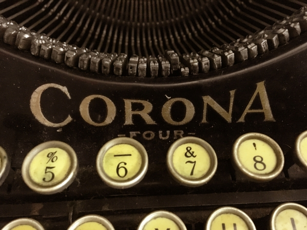 "Corona ""4"" logo on the front..."