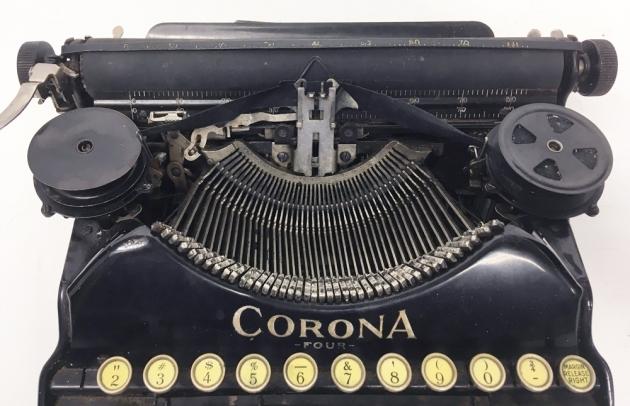 "Corona ""4"" from the top (hood).."