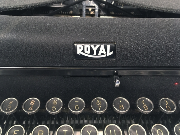 "Royal ""Arrow"" from the logo on the front..."