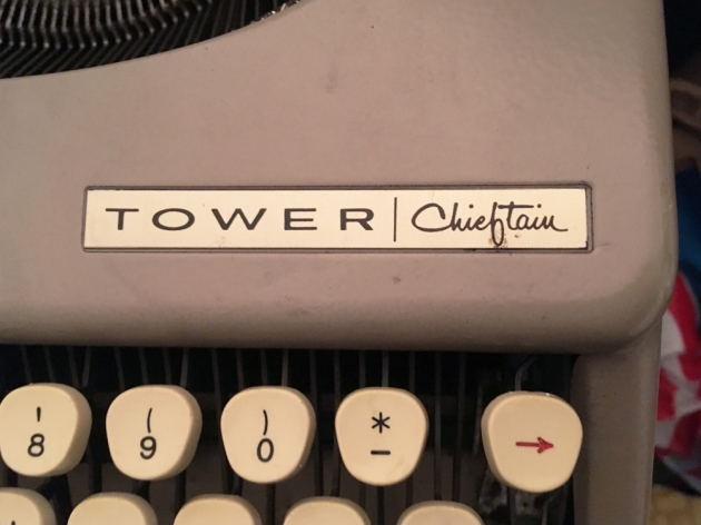 """Tower """"Chieftain"""" from the model name on the top..."""