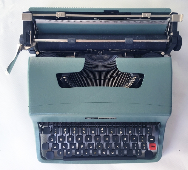 "Olivetti ""Lettera 32"" from the top..."