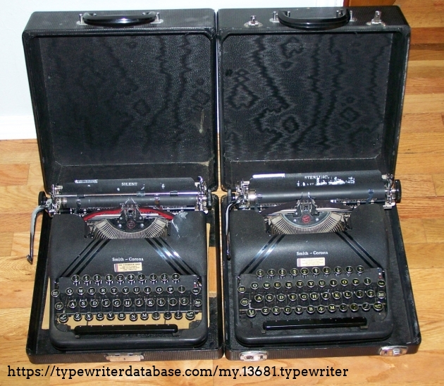 1945 Silent and 1946 Sterling, to compare the minor differences between the models.
