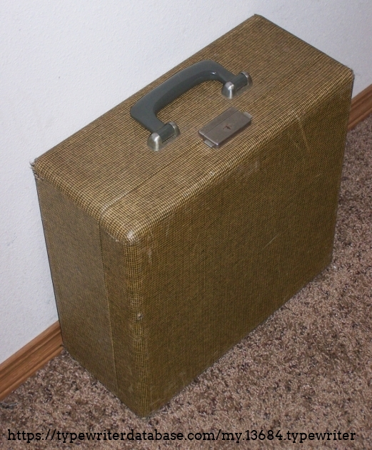 The tweed case.