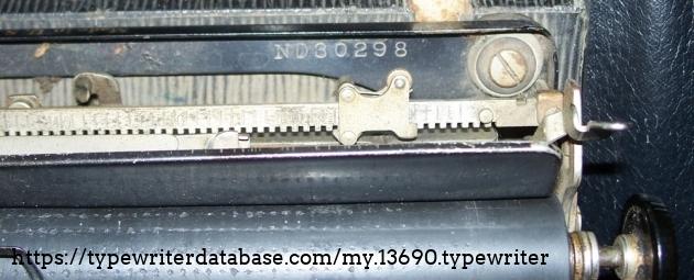 Serial. N=portable, D=September, 3=1923