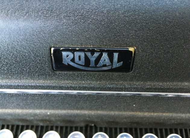 "Royal ""KMM"" from the logo on top..."