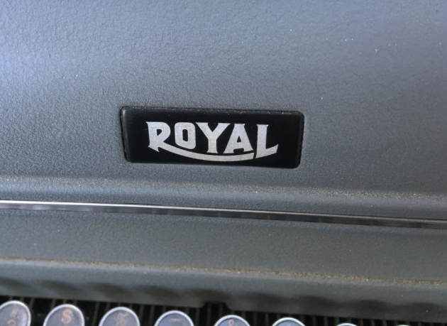 """Royal """"KMG"""" from the logo on the top..."""