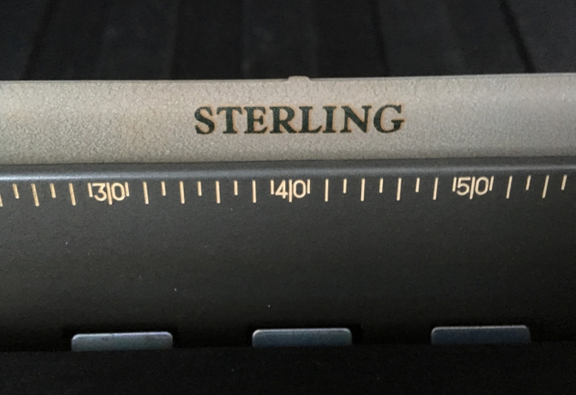 """Smith Corona """"Sterling"""" from the model name on the top..."""