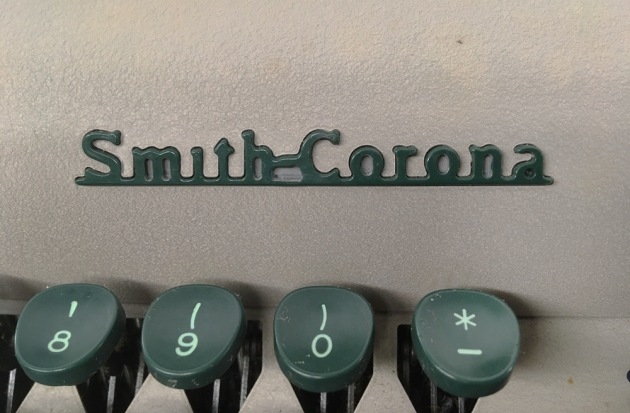 """Smith Corona """"Sterling"""" from the logo on the front..."""