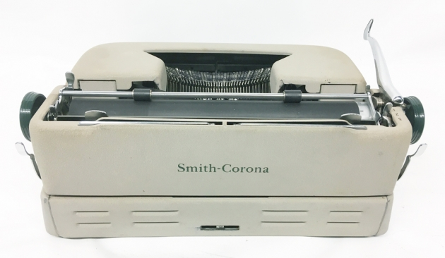 """Smith Corona """"Sterling"""" from the back,,,"""