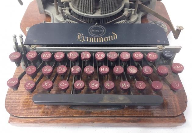 "Hammond ""Multiplex"" from the keyboard..."