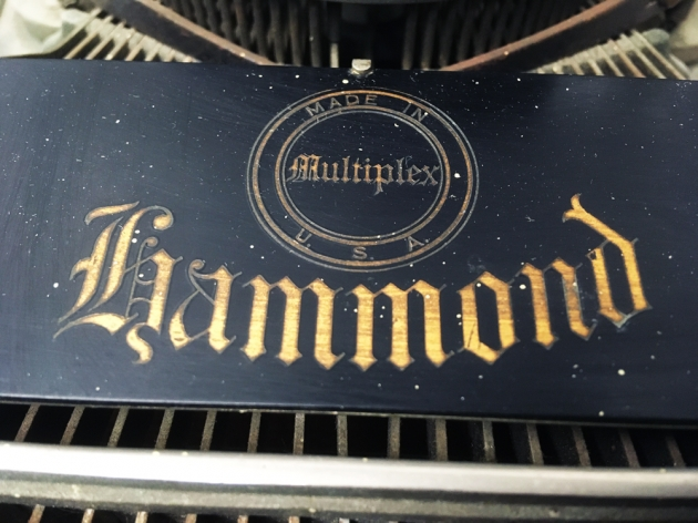 "Hammond ""Multiplex"" from the logo on the top..."