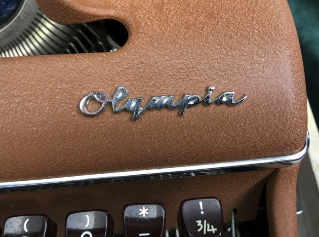 """Olympia """"SM3"""" from the logo on the top..."""