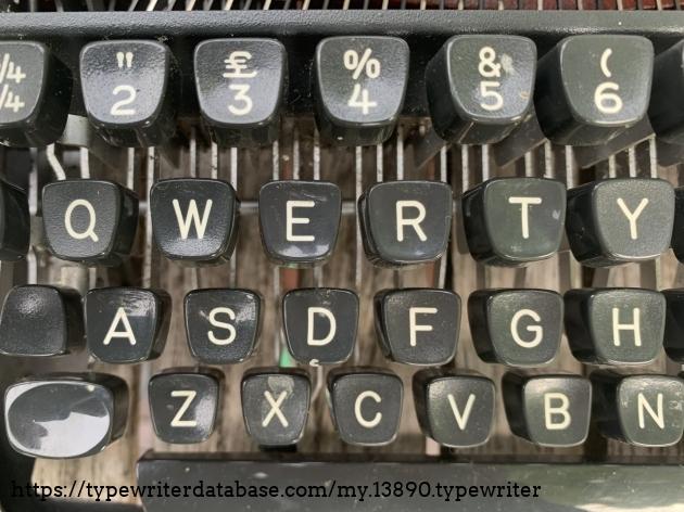 Keyboard detail.