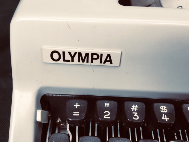 """Olympia """"SM9"""" from the logo on the front..."""