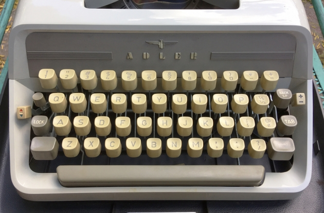 "Adler ""J3""  from the keyboard..."