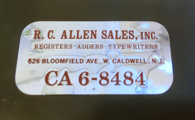 """Adler """"J3""""  from the sticker in the case..."""