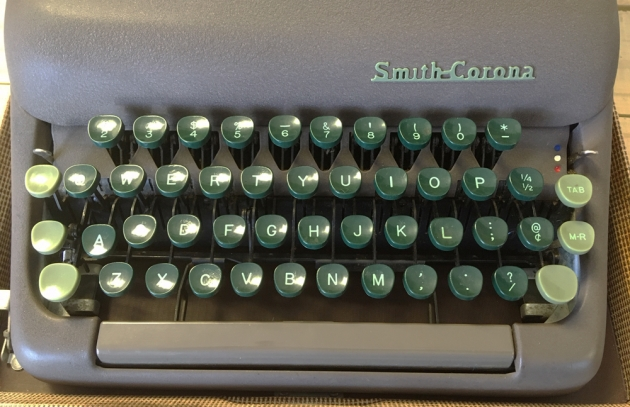 "Smith Corona ""Silent"" from the keyboard..."