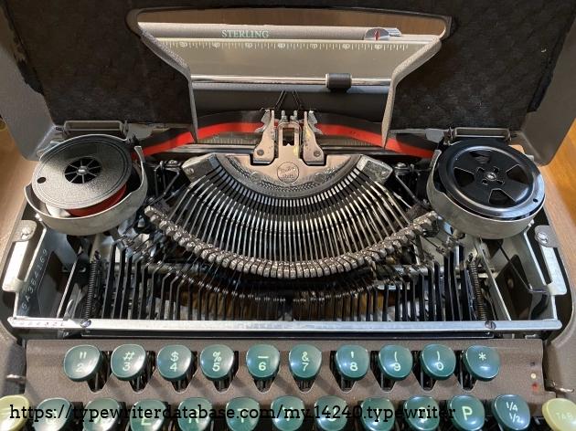 Typebar Closeup