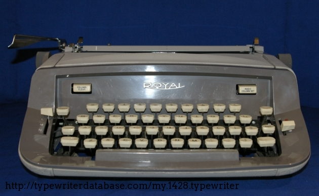 Plastic Front. Note the Column Clear and Magic Column Set which are the Tab keys.
