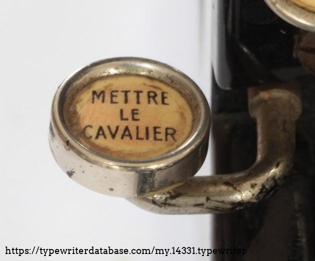 """""""set tab"""". isn't French an elegant language?"""