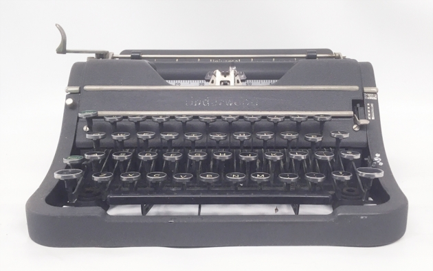 "Underwood ""Universal"" from the front..."