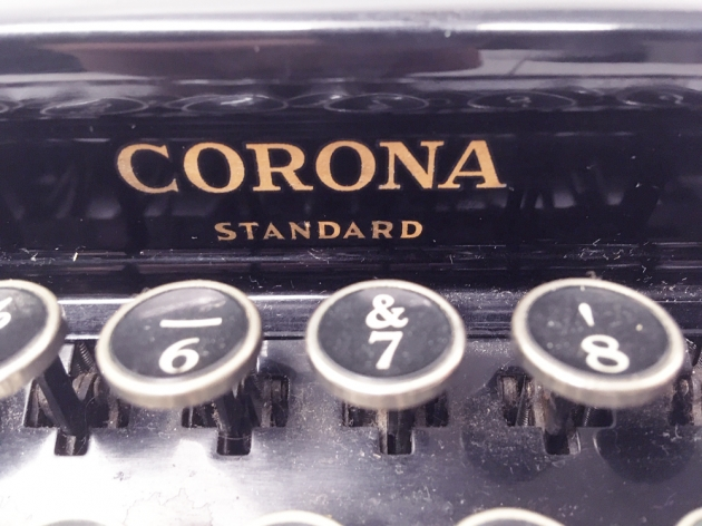 """Smith Corona """"Standard""""  from the logo on the front...."""