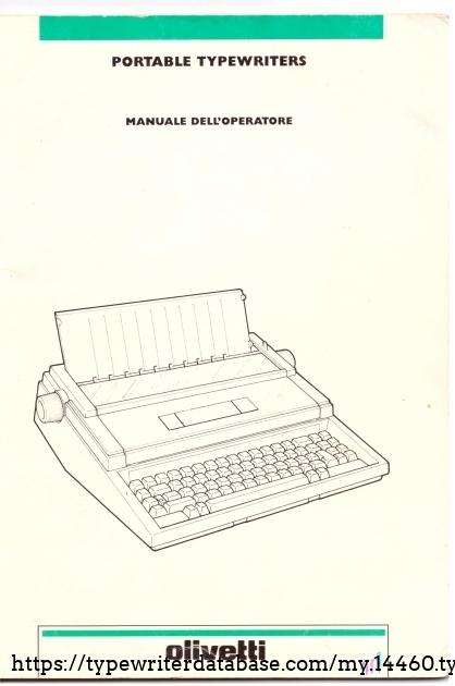Original manual. First edition November 1991