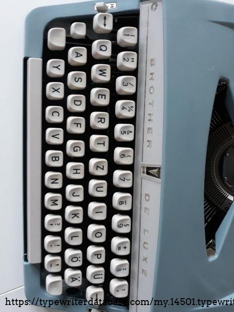 Brother De Luxe keys