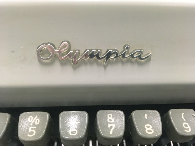 "Olympia ""SM9"" from the logo on the front..."