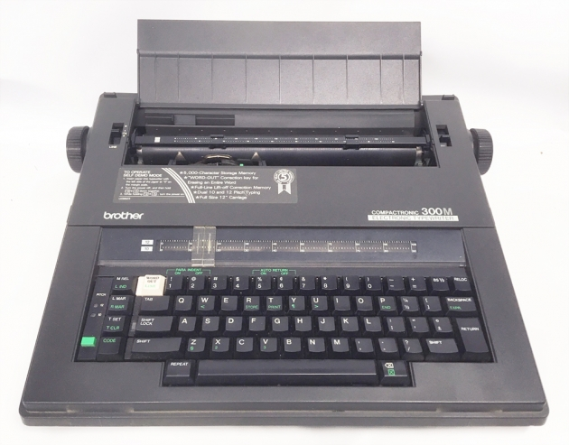 """Brother """"Compactronic 300M"""" from the front..."""