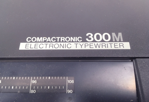 """Brother """"Compactronic 300M"""" from the model logo on the front..."""