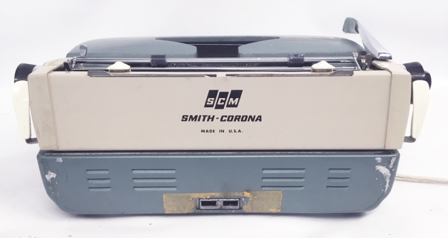 "Smith Corona ""Electra 110"" from the back..."