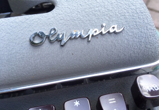 """Olympia """"SM3"""" from the logo on the front..."""