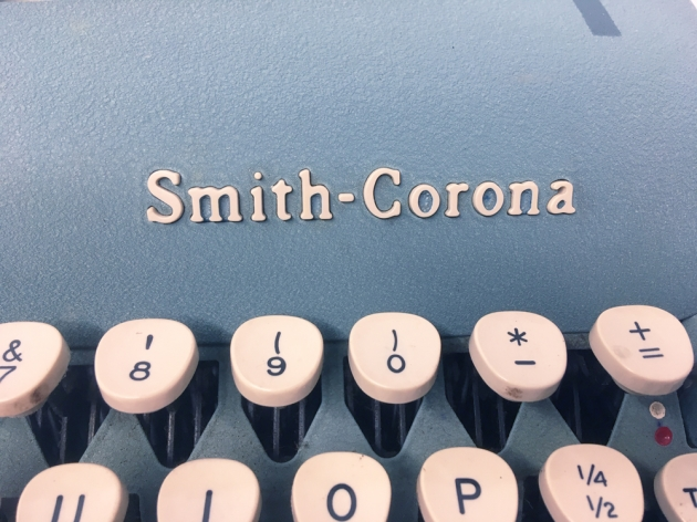 """Smith Corona """"Silent Super""""  from the logo on the front..."""