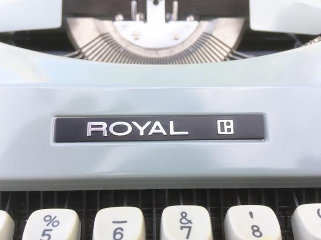 "Royal ""Signet"" from the logo on the front..."