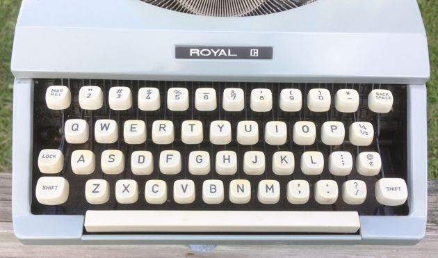 "Royal ""Signet"" from the keyboard..."