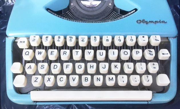"""Olympia """"SF"""" from the keyboard..."""