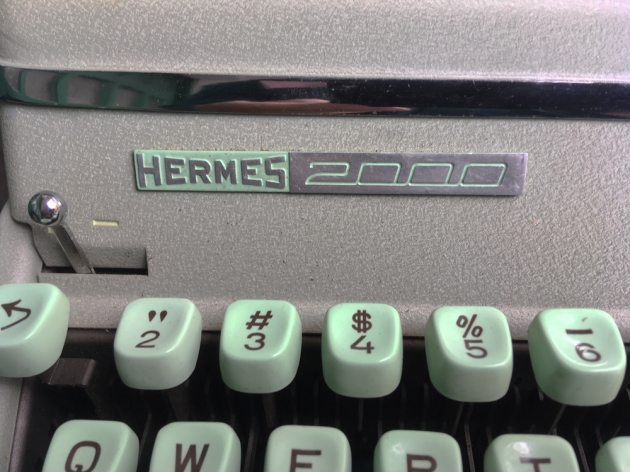 "Hermes ""2000"" from the logo on the front..."
