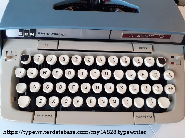 SCM Classic 12 keys
