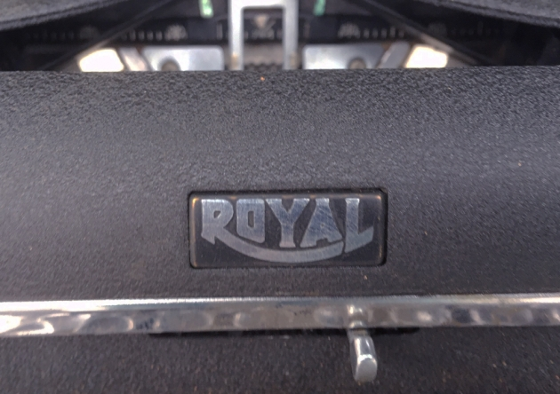 """Royal """"Quiet De Luxe"""" from the logo on the front...."""