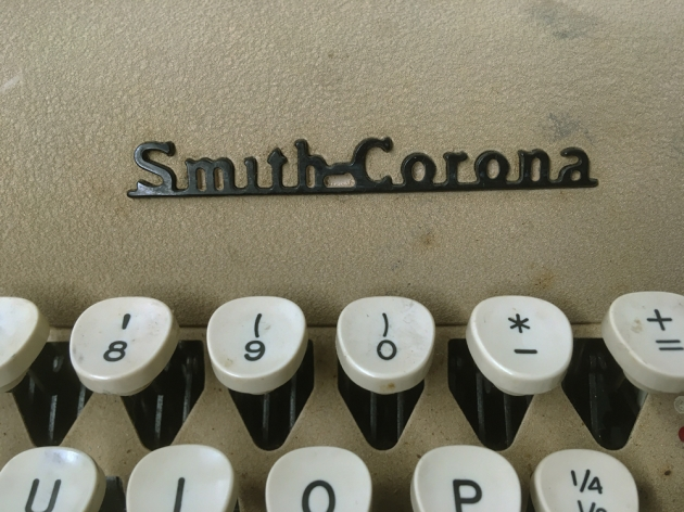 """Smith Corona """"Silent Super"""" from the  maker logo on the top..."""