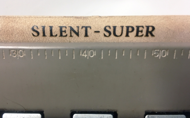 """Smith Corona """"Silent Super"""" from the model logo on the top..."""